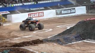 Monster Jam, Derby Uk, 28th May 2011; Monster Mutt Rottweiler Freestyle 2/2