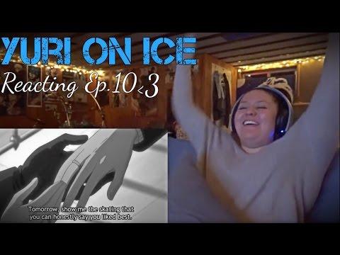 WEDDING RINGS!!? ~ Yuri on ice Reacting to Ep.10