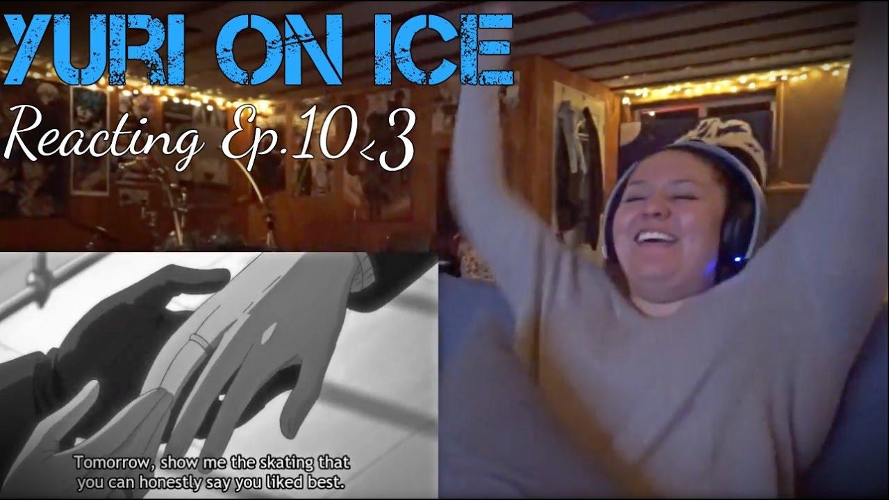 WEDDING RINGS Yuri on ice Reacting to Ep10 YouTube