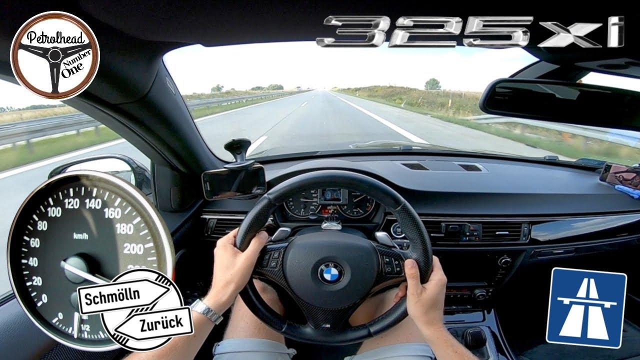2008 BMW 325xi E91   Próba autostradowa.