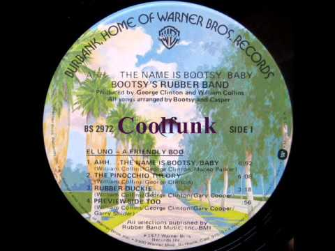 Bootsy's Rubber Band - The Pinocchio Theory (P-Funk 1977)