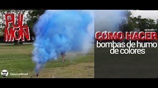 Cómo hacer bombas de humo de colores [a Pulmón episodio 1]
