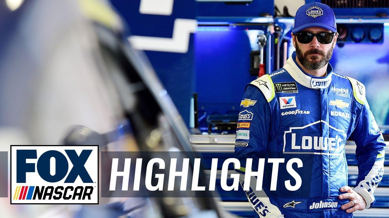 Top 5 moments of Jimmie Johnson's NASCAR career | NASCAR on FOX HIGHLIGHTS