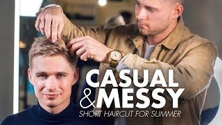 Casual & Messy Haircut for Men | Get the Perfect Result