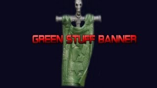 How To Make A Green Stuff Banner + Youtube Partnership!