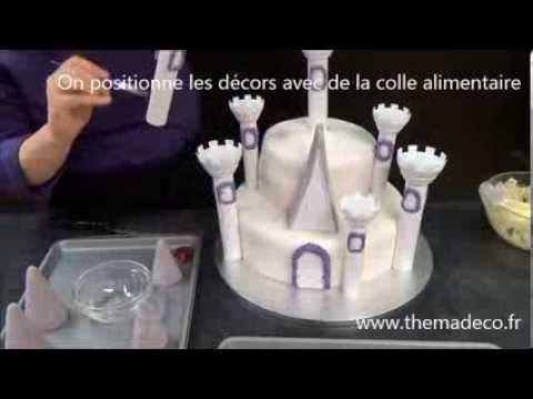 Faire Un Gateau Chateau De Princesse Youtube