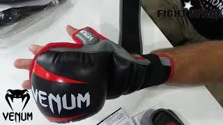 видео Перчатки ММА Venum (Венум) Challenger Gloves - Black -  купить в интернет-магазине OLYMPION