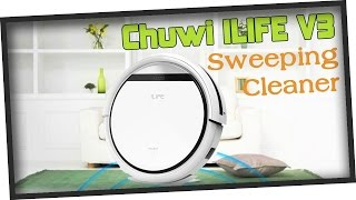 Multifunctional Chuwi ILIFE V3 Intelligent Vacuum Cleaner from GearBest.com