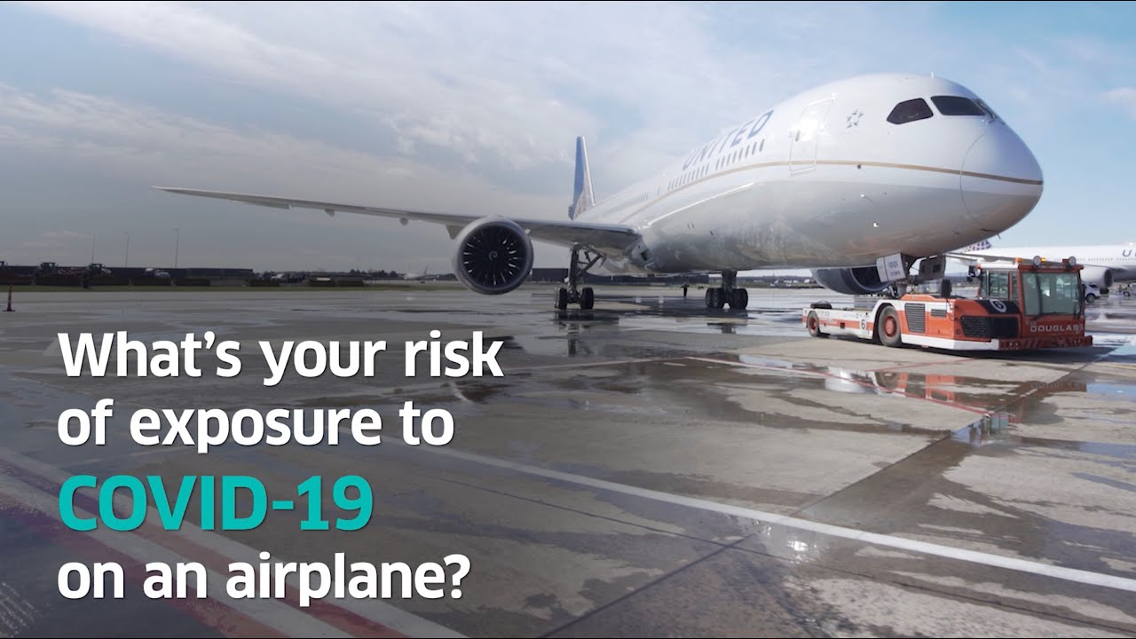 Your risk of exposure to COVID-19 on an airplane? Almost non-existent.