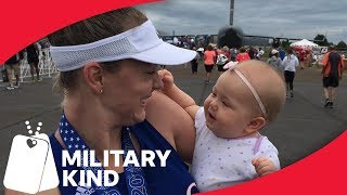 Air Force mom pumps breast milk during Ironman