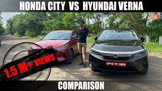 2020 Honda City vs Hyundai Verna Comparison - EXCLUSIVE | Hindi | MotorOctane