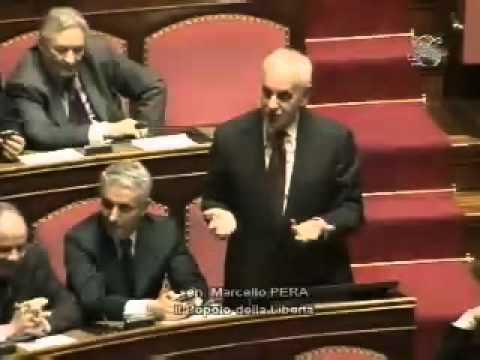 Rosi Mauro: Marcello Pera invita a distinguere tra questioni istituzionali e questioni politiche