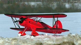 Полеты на моем биплане Waco