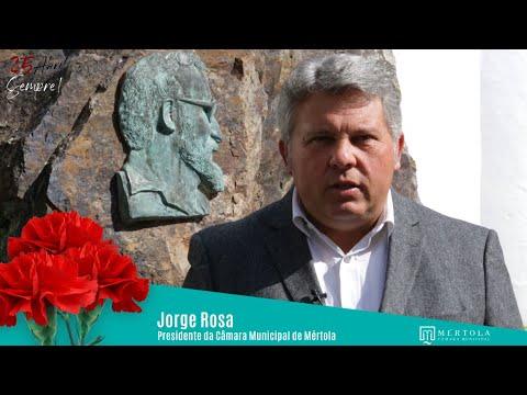 Mensagem do presidente da Câmara Municipal de Mértola