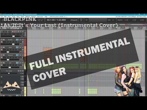 BLACKPINK - As If It's Your Last [INSTRUMENTAL COVER]