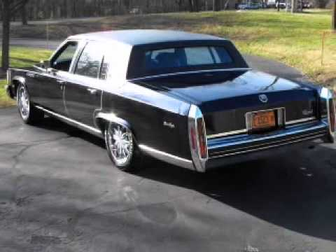 1984 Cadillac Fleetwood Brougham - Lombard IL - YouTube