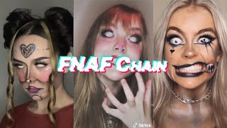 Tik Tok Complete Five Nights at Freddy's Chain (Song-Stay Calm)