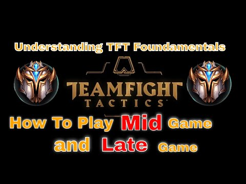 TeamFight Tactics Understanding How to play Mid-Game to Late Game | Challenger Guide | HiddenDino|