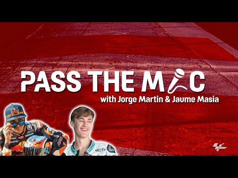 Jorge Martin & Jaume Masia | PASS THE MIC