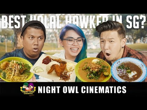 Food King Singapore: Best Halal Hawker Food?!