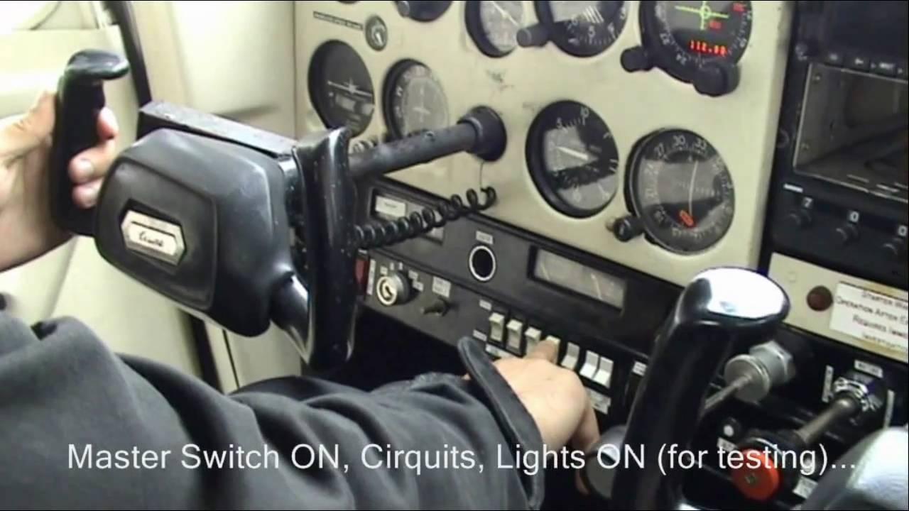 cessna 152 cockpit flight training start up pre flight takeoff climb youtube [ 1280 x 720 Pixel ]