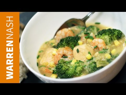Seafood Chowder Recipe - Best Seafood Dish - Recipes By Warren Nash