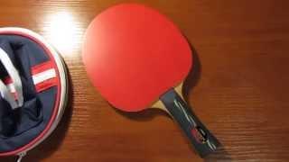 Ракетка для настольного тенниса Stiga Ultimate 5* и фирменный чехол(Обзор ракетка Stiga Ultimate 5* и фирменного чехла. Отзыв. http://www.olympica.by., 2015-04-16T16:02:16.000Z)