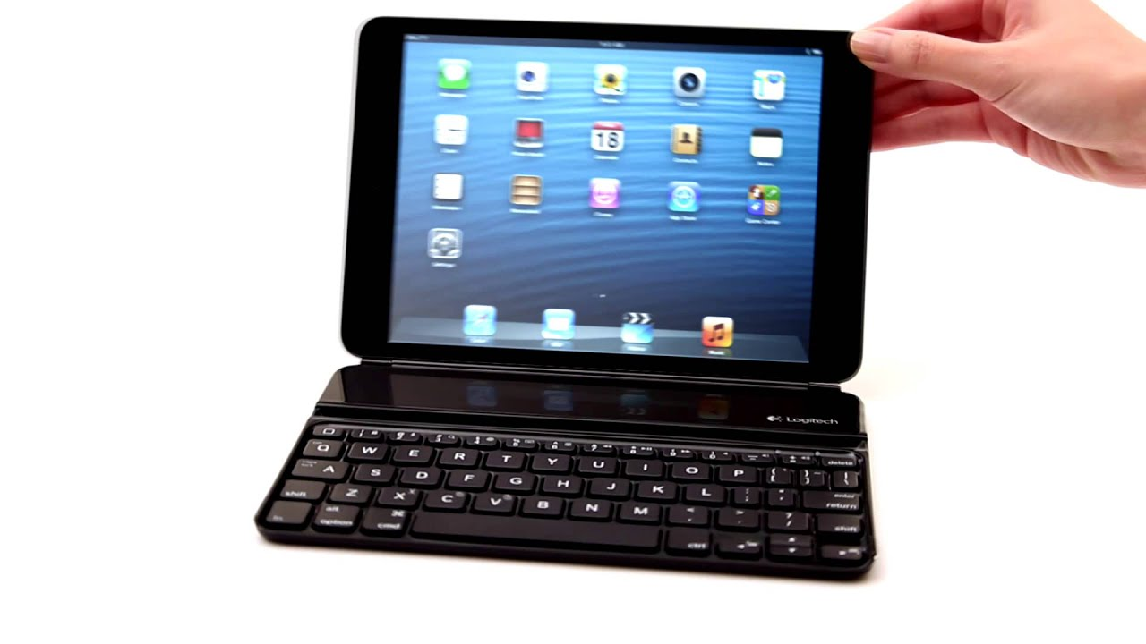 6f49974a9ad Logitech Ultrathin Keyboard for iPad mini - YouTube