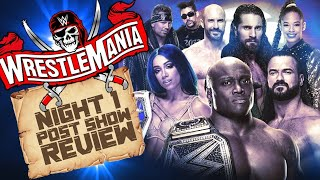 WWE Wrestlemania 37 Night One Review & Results || Sasha Banks Vs Bianca Belair Is A CLASSIC!