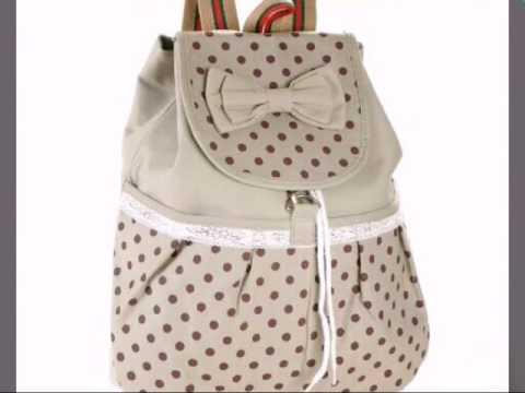 394a07267 حقائب مدرسه للبنات - YouTube