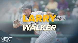 It's been a long, winding path across ice and outfields for Larry Walker
