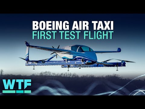 Boeing air taxi completes first test flight | What The Future