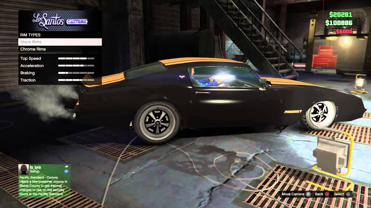 Gta 5 Best Looking Muscle Car Ever Youtube
