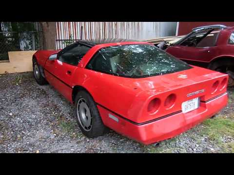 Steve's 1985 C4 Corvette Project Car