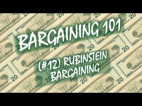 Bargaining 101 (#12): Rubinstein Bargaining - YouTube