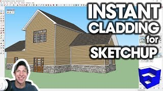 INSTANT CLADDING in SketchUp! (Extension Introduction)