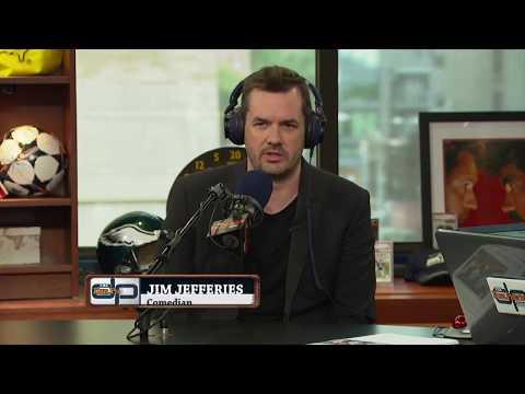 Actor/Comedian Jim Jefferies on The Dan Patrick Show | Full Interview | 8/10/17