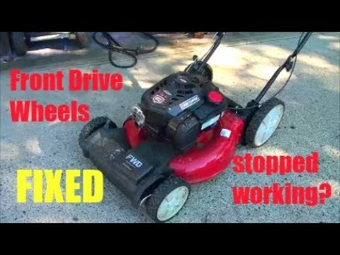Newer Craftsman Fwd Lawnmower Wheels Stopped Turning Problems With Self Propelled