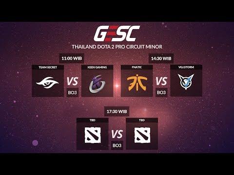 Team Secret VS Keen Gaming (BO3) - GESC Thailand Minor, Main Event Day 2