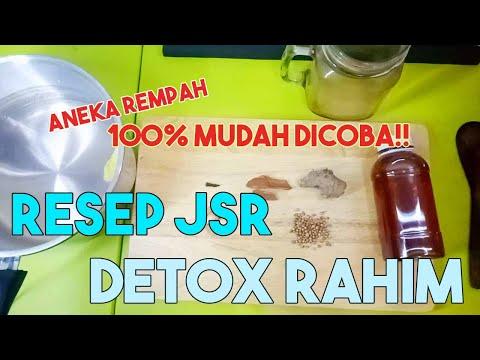 RESEP DETOX RAHIM ( RESEP Jurus Sehat Rimpang,  DR.ZAIDUL AKBAR)