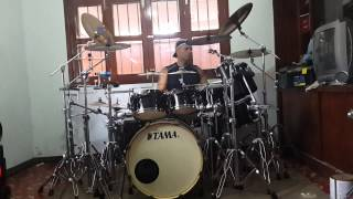 "Kiss: - Somewhere Between Heaven And Hell - ""Drum Cover"""