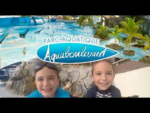 VLOG - Parc Aquatique Aquaboulevard en plein PARIS - Piscine & Toboggan - 1/2