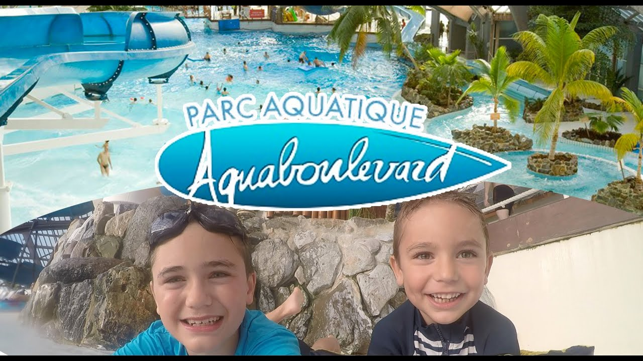 Vlog parc aquatique aquaboulevard en plein paris for Piscine paris