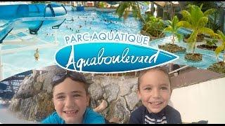 VLOG - Parc Aquatique Aquaboulevard en plein PARIS - Piscine & Toboggan - 1/2 thumbnail