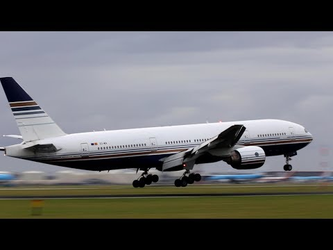 B777 Privilege Style for TUI Schiphol landing. [watch your flight]