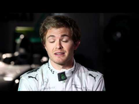 F1 2012 - Mercedes AMG - Nico Rosberg & the risk management