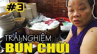 Ngo Si Lien cursing rice noodle restaurant in Hanoi