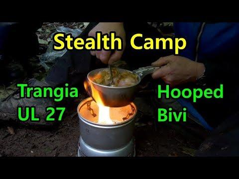 Easter Stealth Wild Camp Trangia UL 27 Hooped Dutch Bivi