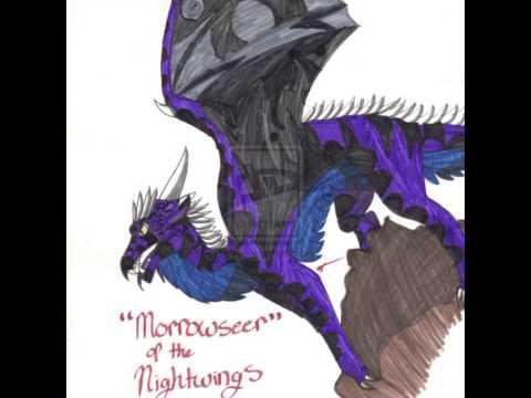 Morrowseer wings of fire tribute