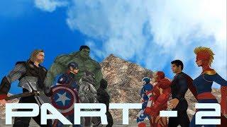 Ironman vs Thor vs Captain America vs Hulk vs Captain Marvel vs Batman vs Black Panther vs Superman